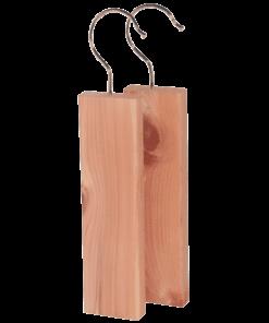doftblock i rödcederträ med krok 2-pack