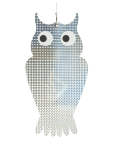 MotFågel Fågelskrämma Uggla Reflex, 2-pack