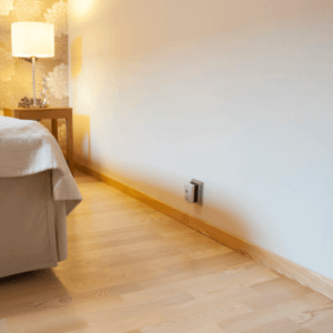 Spindelfritt 30 sovrummet