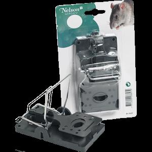 Ratfalla i plast och metall nelson garden