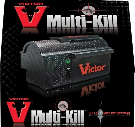 Victor® Multi-Kill – Elektrisk musfälla förpackning