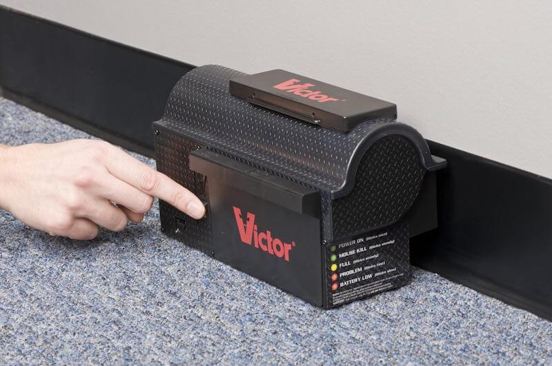 Victor® Multi-Kill – Elektrisk musfälla längst vägg