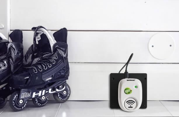 Silverline® Mus & Råttfritt™ Battery vid vägg
