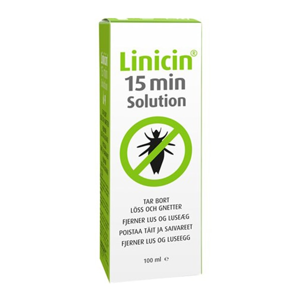 Linicin Solution 100 ml forpackning